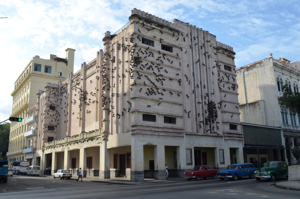 Rialto Theater at the 2015 Biennial by artist Rafael Gomez
